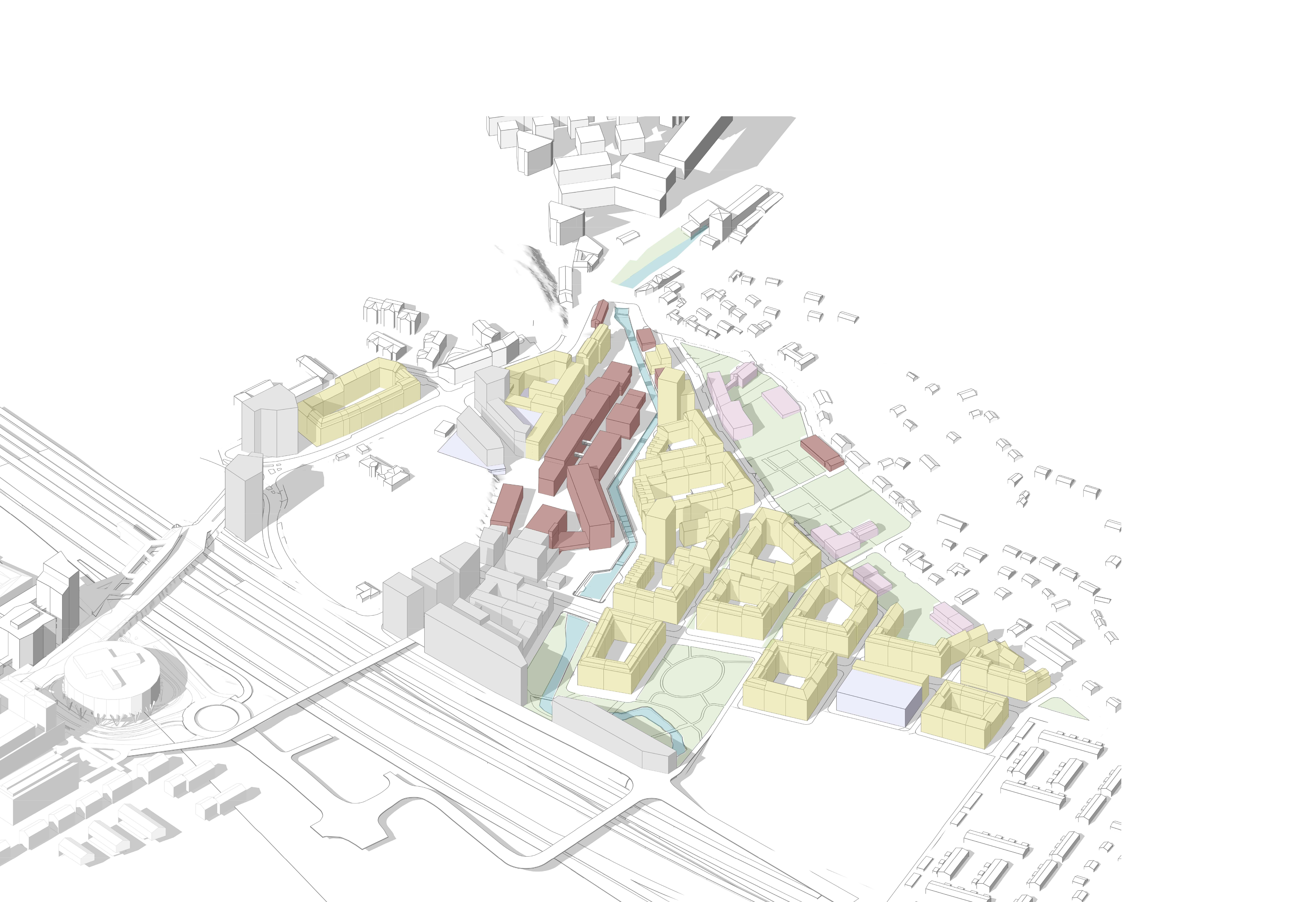 underlag 3D diagram – Användning_200128 – Med P-hus 1